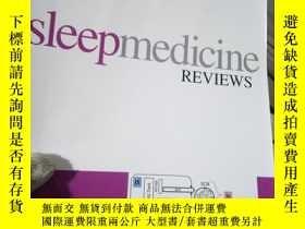 二手書博民逛書店Sleep罕見Medicine Reviews Volume 2