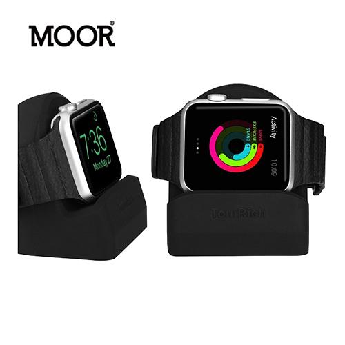 MOOR Apple Watch 專用充電展示座 (黑色) T50