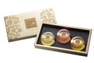 膠原蛋白黃金香氛皂禮盒3入裝(茉莉+玫瑰+檀香)-含禮盒提袋【台鹽生技】