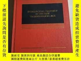 二手書博民逛書店intellectual罕見property in the ne