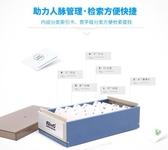 名片盒 透明大容量名片盒桌上收納盒銀行卡片座商務男式女士桌面整理盒透明名片座分類整理盒