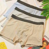 3條裝 男士內褲男平角褲棉四角褲時尚舒適短褲日繫棉質中腰褲衩【萬聖節】