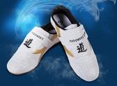 跆拳道鞋-兒童訓練軟底男女款初學者成人秋季透氣武術鞋抬拳道鞋子 花間公主