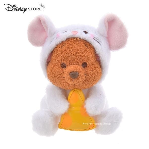 日本限定 迪士尼商店 Disney Store 新年 小熊維尼家族 袋鼠 小荳  鼠年 玩偶娃娃 13cm