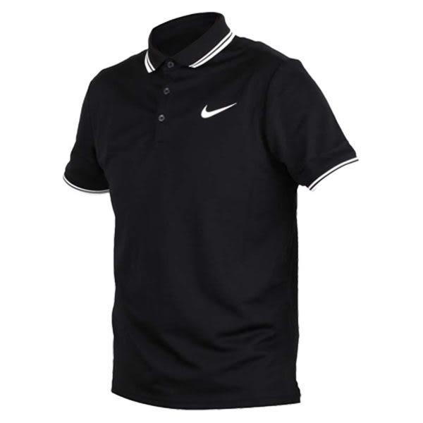 Nike Dry Polo Solid 男 黑 運動襯衫 短袖 短T Polo衫 高爾夫 排汗 透氣 短袖 830848010