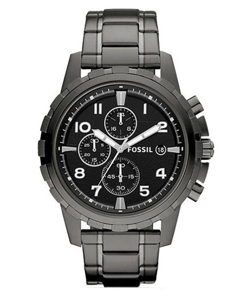 FOSSIL Dean Chronograph系列 真三眼時尚腕錶 FS4721 男錶女錶對錶情侶錶 送禮