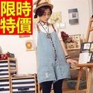 吊帶褲休閒-甜美典型日系亮麗隨意女褲子1色59g49【巴黎精品】
