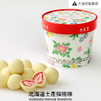 [六花亭] 草莓巧克力 白巧克力