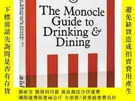 二手書博民逛書店The罕見Monocle Guide To Drinking And DiningY256260 Monocl