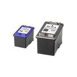 HP 環保墨水匣C8727A(27) + C8728A(28)(1黑1彩共2顆)適用DJ3320/3323/3325/3420/3425/3535/3550/3650/3744/3745/3845/PSC1315