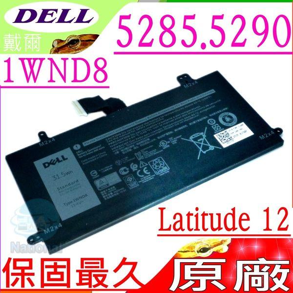 DELL 電池(原廠)-戴爾 1WND8,Latitude 12 5285電池, 5290電池, J0PGR