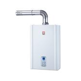 (含標準安裝)櫻花16公升強制排氣(與SH1635同款)熱水器數位式SH-1635