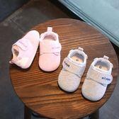 0-6-12個月新生嬰兒鞋不掉鞋春