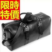 真皮行李袋-好收納可肩背個性有型男手提包1色59c41[巴黎精品]