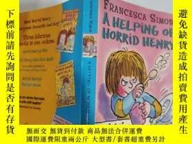 二手書博民逛書店a罕見helping of horrid henry 一幫可怕的亨利.Y200392