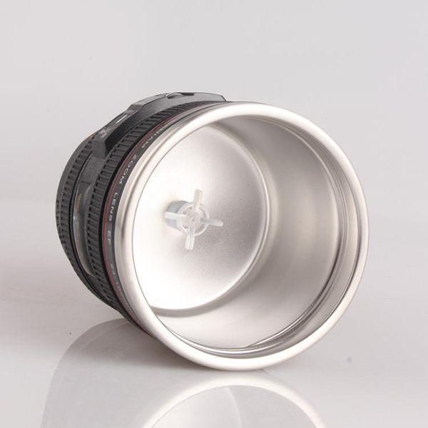 單反鏡頭水杯攝像相機創意禮物懶人牛奶咖啡杯電動全自動攪拌杯子【全館滿888限時88折】