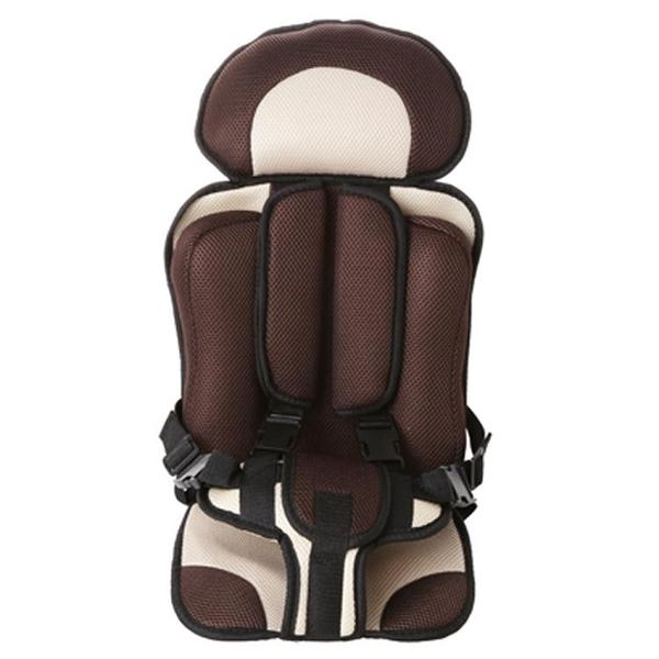 兒童嬰兒安全座椅汽車簡易汽車背帶便攜式車載座椅坐墊0-4 3-12歲 熊熊物語