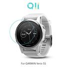 兩片裝 Qii GARMIN fenix 5S 玻璃貼 鋼化玻璃貼 自動吸附 2.5D弧邊 手錶保護貼
