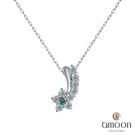 amoon 永恆回憶系列 流星雨 鉑金鑽石項鍊