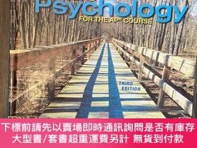 二手書博民逛書店Myer's罕見Psychology for the AP Course (Third Edition)Y49
