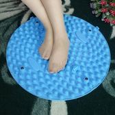 TPE圓形指壓板足底按摩墊小冬筍趾壓板超大超痛家用腳踩墊 igo摩可美家