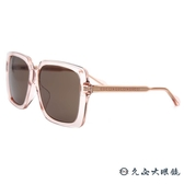 GUCCI 太陽眼鏡 GG0567SA  (透粉) 大方框 墨鏡 久必大眼鏡