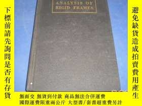 二手書博民逛書店analysis罕見of rigid frames (an application of slope deflec