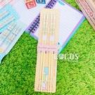 正版 角落小夥伴 角落生物 竹筷2雙入 筷子 環保筷 環保餐具組 A款 COCOS AS132