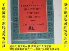 二手書博民逛書店THE罕見PELICAN HISTORY OF ENGLAND:ENGLAND IN THE NINETEENTH