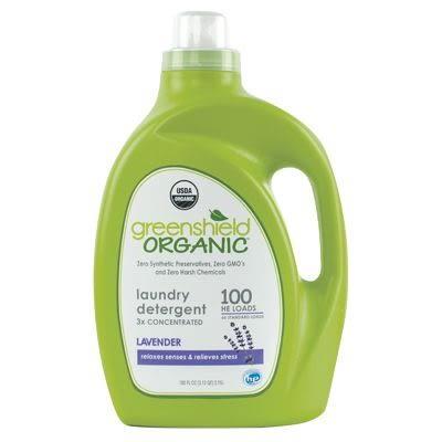 USDA綠潔寶貝Baby Ganics 3倍濃縮洗衣精(薰衣草)100 OZ(2950ml)[衛立兒生活館]
