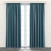 日式漸變遮光窗簾 寬290x高240cm 綠色