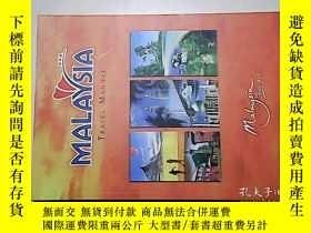二手書博民逛書店MALAYSIA罕見TRAVEL MANUAL馬來西亞旅遊手冊【