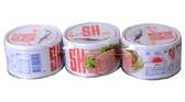 【三興】紅SH油漬鮪魚(塊肉) 190g*3入