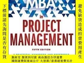 二手書博民逛書店The罕見Fast Forward Mba In Project Management (fast Forward