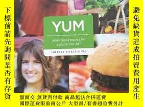二手書博民逛書店YUM:罕見Plant-Based Recipes For A