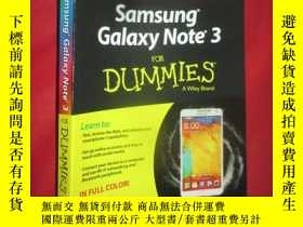 二手書博民逛書店Samsung罕見Galaxy Note 3 for Dummi
