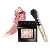 BOBBI BROWN 美肌輪廓打亮組-金緻美肌粉-Pink glow+薄透蜜粉刷