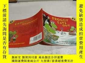 二手書博民逛書店Froggy罕見Eats Out 法國人吃了Y200392