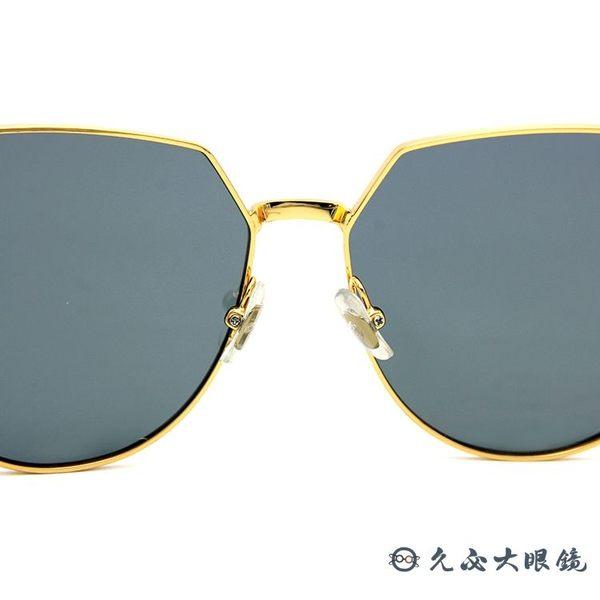 HELEN KELLER 林志玲代言H8606 (金) 貓眼 水銀 太陽眼鏡 久必大眼鏡