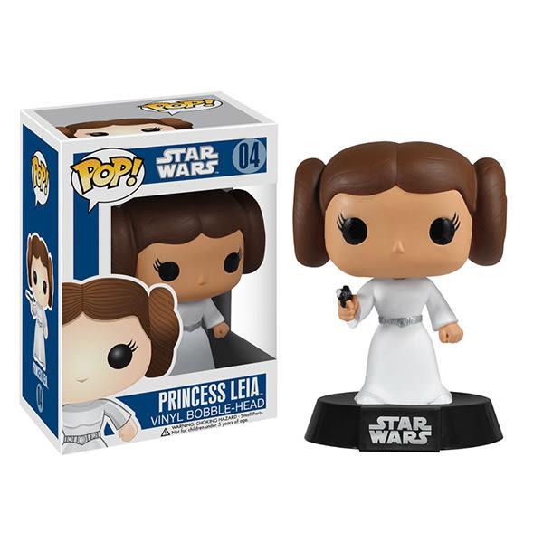 Funko POP!系列 Q版 星際大戰 Star Wars Princess Leia 莉亞公主 搖頭公仔 04