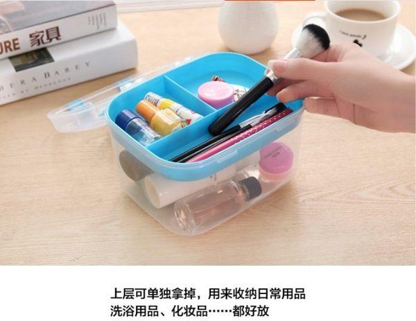 [協貿國際]  醫療箱急救箱家用多層小號藥箱 (2個價)