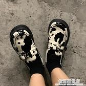 許劉芒Lolita原創日系學院可愛奶牛女鞋ins韓國復古jk皮鞋瑪麗珍 雙十二全館免運