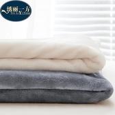 毛毯加厚珊瑚絨毯子單人被子冬季雙人法蘭絨床單毛毯被子 萬客居