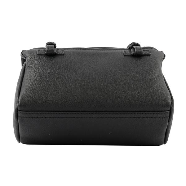 【GIVENCHY】粒面山羊皮 Pandora 斜背包(Mini)(黑色) BB05253013 001