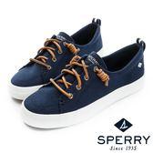 SPERRY 街頭風尚經典帆布鞋(女)-內斂藍