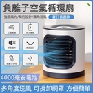 淨化風扇負離子空調風扇投影燈床頭小台扇多功能空氣淨化多功能扇 優樂美