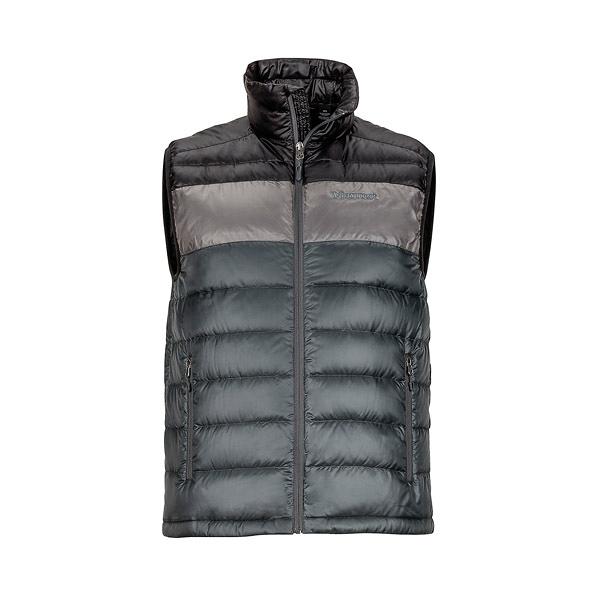 [Marmot] (男) Ares Vest 保暖羽絨背心 岩石灰/黑 (M71320-1444)