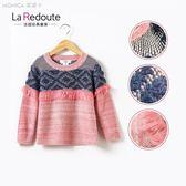 女童毛衣套頭外套春款寶寶衫兒童針織衫中大童毛衣 KP302   莫妮卡小屋