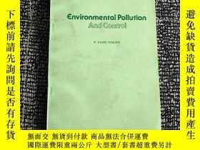 二手書博民逛書店Environmental罕見Pollution And Con