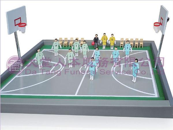 【大堂人本】運動休閒趣系列-籃球高手組(紙紮) (另有客製化紙紮)